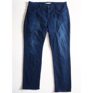 Levi's 311 Shaping Skinny Dark Wash Jeans 22